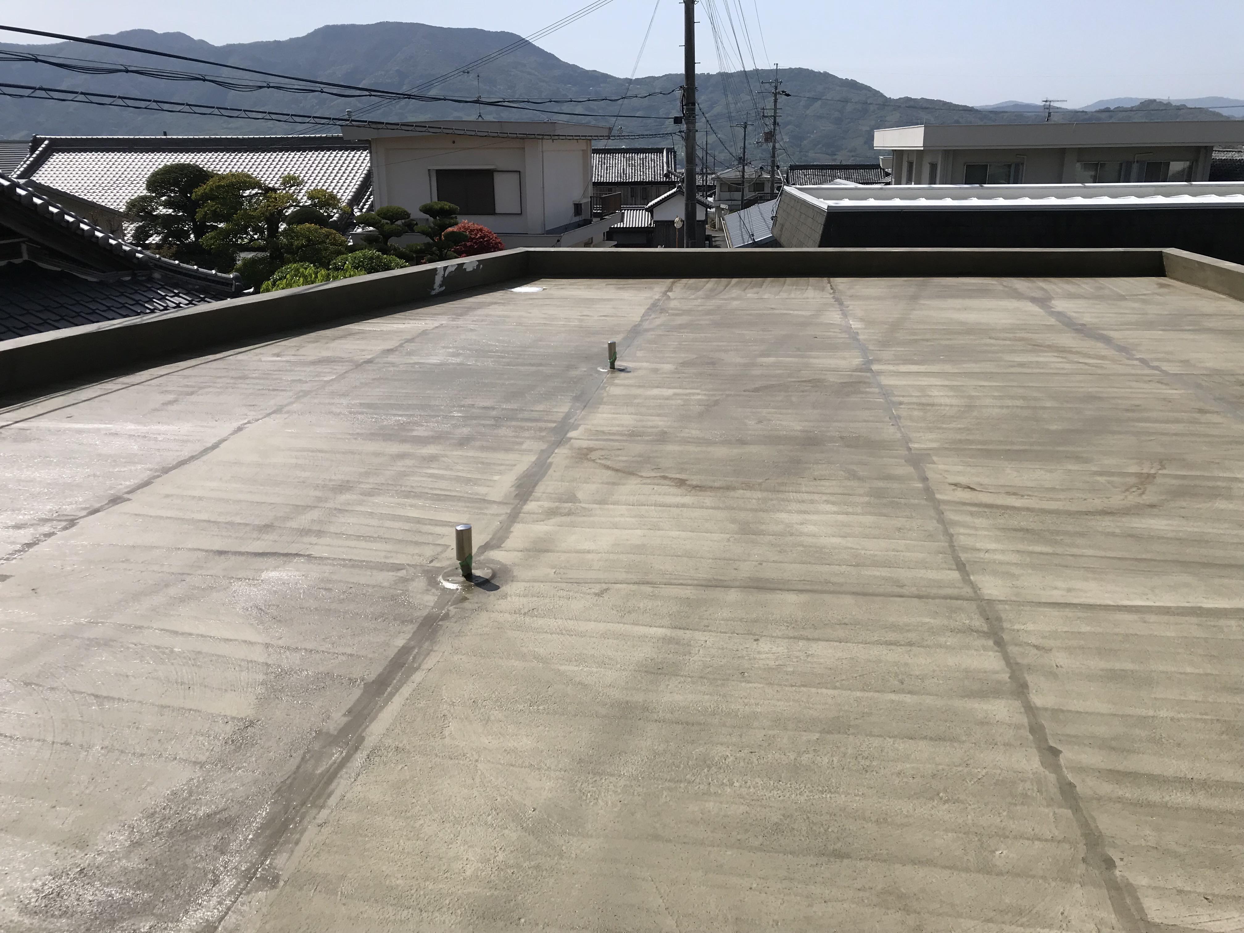 屋上防水工事(前)